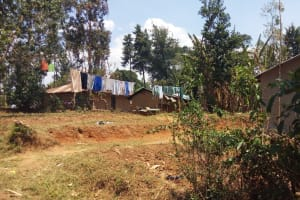 The Water Project: Handidi Community, Kadasia Spring -  Clothes Drying