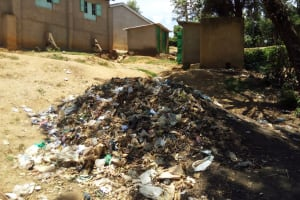 The Water Project: Chief Mutsembe Primary School -  Garbage Site