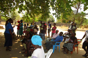 The Water Project: Tintafor, Officer's Quarters Community -  Training
