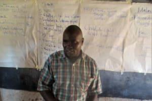 The Water Project: ADC Chanda Primary School -  Mr Joseph Agoi