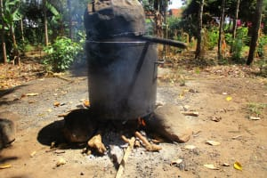 The Water Project: Mukhombe Primary School -  Hearth For Cooking