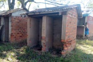 The Water Project: Ematsuli Primary School -  Latrines