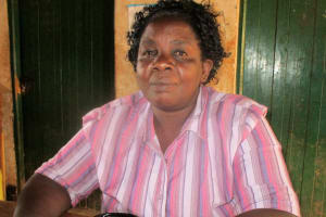 The Water Project: Esibuye Primary School -  Headteacher Esther Asitiba