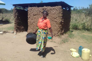 The Water Project: Emusoma Primary School -  Cook And Kitchen