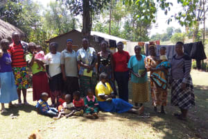 The Water Project: Emarembwa Community, Nyangweso Spring -  Training Participants