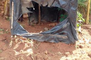 The Water Project: Igogwa Community -  Latrine