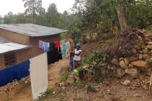 The Water Project: Shitungu Community B, Charles Amala Spring -  Washing And Drying