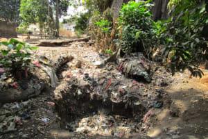 The Water Project: Benke Community, Brima Lane -  Trash Pile