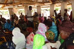The Water Project: Mayaya Village A -  Community Meeting