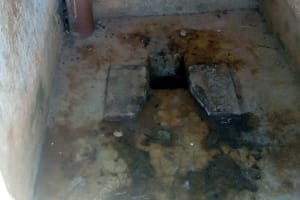 The Water Project: Ematsuli Primary School -  Inside Latrine