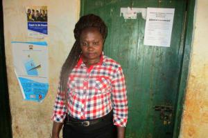 The Water Project: Esibuye Primary School -  Miss Jane Ambiyo Sanitation Teacher