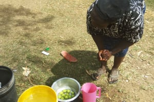 The Water Project: Shikoti Community -  Preparing Fruit