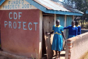 The Water Project: Ematsuli Primary School -  Girls Latrines