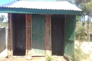 The Water Project: Emusoma Primary School -  Boys Latrines