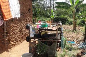 The Water Project: Shikoti Community, Amboka Spring -  Dish Rack