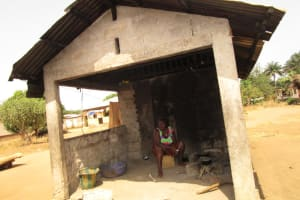 The Water Project: Kitonki Community, War Wounded Camp -  Kitchen