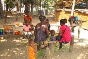 The Water Project: Mayaya Village A -  Community Members