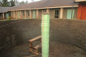 The Water Project: Emmabwi Primary School -  Construction