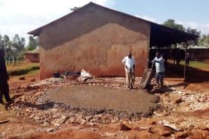 The Water Project: Kilingili Primary School -  Construction