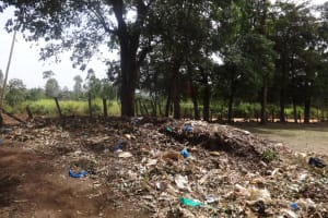 The Water Project: Emulakha Primary School -  Garbage Site