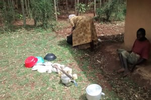 The Water Project: Shikhuyu Community -  No Dish Rack