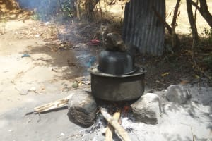 The Water Project: Shikoti Community -  Fireplace
