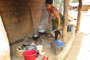 The Water Project: Mayaya Village A -  Cooking