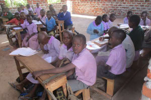 The Water Project: Lwangele Primary School -  Students In Class