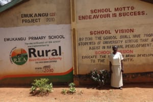 The Water Project: Emukangu Primary School, Butere -  School Entrance