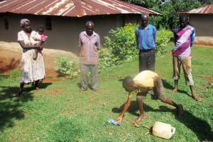 The Water Project: Kidinye Community, Wamwaka Spring -  Training