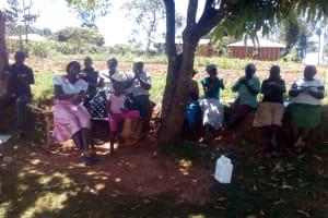 The Water Project: Bumavi Community, Shoso Mwoga Spring -  Training