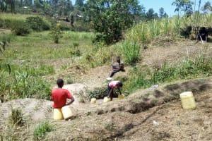 The Water Project: Handidi Community, Malezi Spring -  Malezi Spring