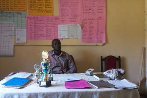 The Water Project: Chief Mutsembe Primary School -  Headmaster