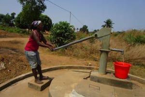 The Water Project: Royema, New Kambees -  Seasonal Well