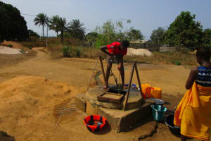 The Water Project: Royema Community A -  Alternative Water Source