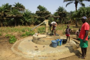 The Water Project: Kitonki Community, War Wounded Camp -  Seasonal Well