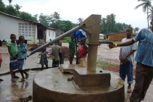 The Water Project: Kafunka Community -  Light Rains But Not Working