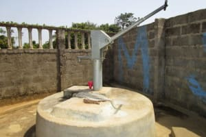 The Water Project: New London Community, Magburaka Road -  Seasonal Hand Dug Well
