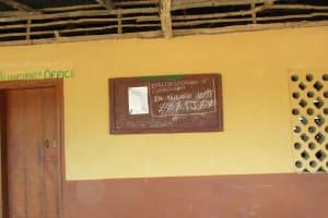 The Water Project: Kulufai Rashideen Secondary School -  Notice Board
