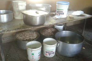 The Water Project: Bishop Sulumeti Girls Secondary School -  Food Preparation