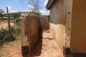 The Water Project: Emukangu Primary School, Butere -  Boys Urinal