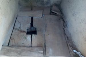 The Water Project: Handidi Community, Malezi Spring -  Latrine