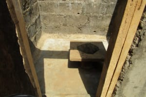 The Water Project: Benke Community, Brima Lane -  Inside Latrine