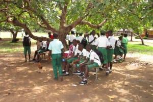 The Water Project: Kulufai Rashideen Secondary School -  Outside Class