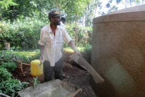 The Water Project: Virembe Primary School -  Construction