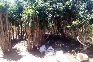 The Water Project: Handidi Community, Malezi Spring -  Bathing Room