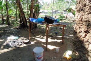 The Water Project: Shiamboko Community, Oluchinji Spring -  Dish Rack