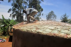 The Water Project: ADC Chanda Primary School -  Dome Construction