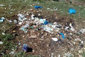 The Water Project: Ematsuli Primary School -  School Dumpsite