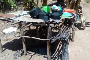 The Water Project: Handidi Community, Malezi Spring -  Dish Rack